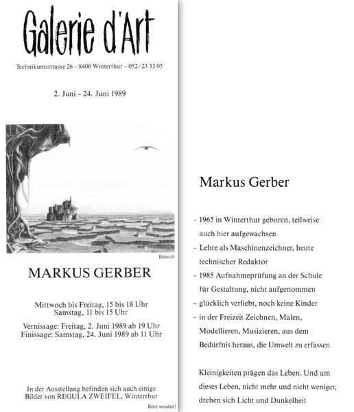 Galerie Markus Gerber: Ölbilder, Acrylbilder,Zeichnungen ...